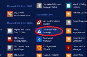 Enterprise Alert Integration with SolarWinds via Web Services