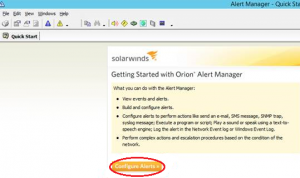 Enterprise Alert Integration with SolarWinds via Web Services