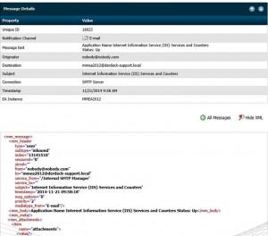 Enterprise Alert Integration with SolarWinds via SMTP