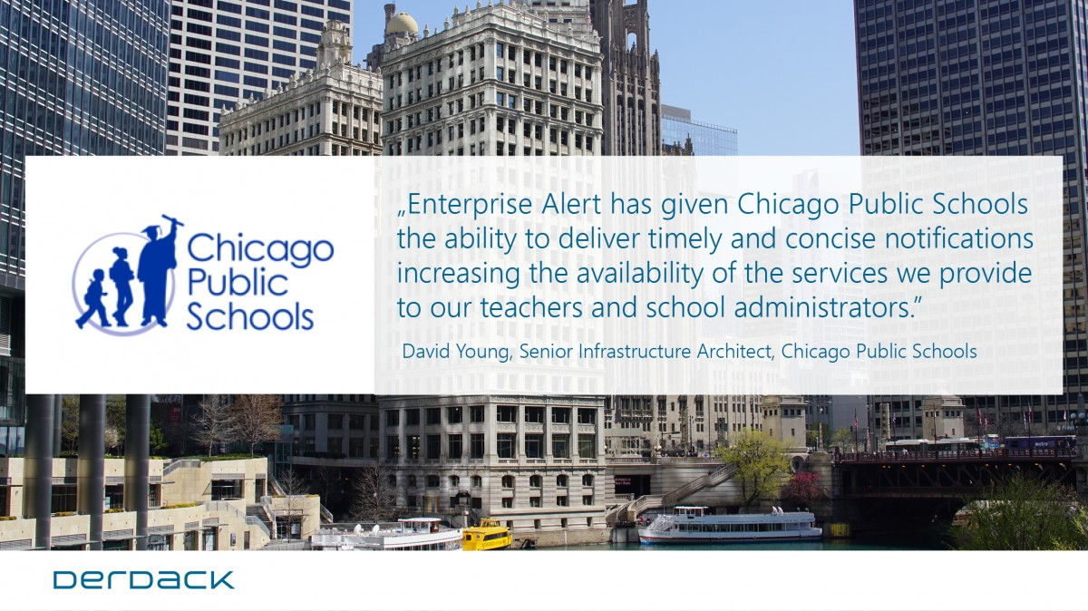 Chicago Public Schools implement reliable IT alerting with Derdack