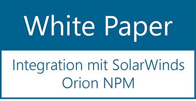 White Paper  – Integration mit SolarWinds