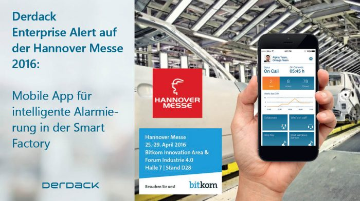 Mobile App für Alarmierung in der Smart Factory