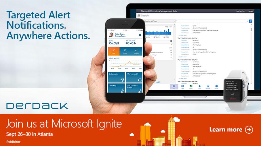 Treffen Sie uns in Atlanta bei der diesjährigen Microsoft Ignite!