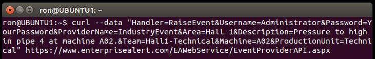 Alarme von Linux / UNIX aus per Kommandozeile generieren