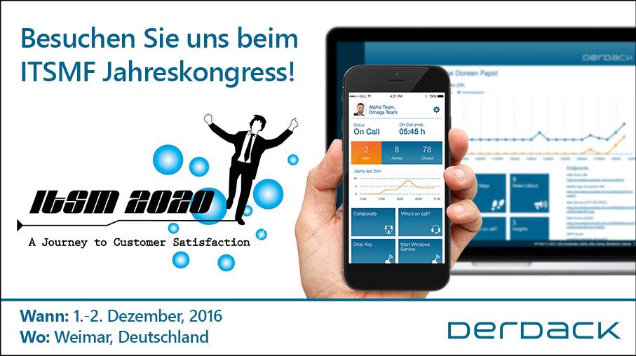 Besuchen Sie uns in Weimar beim itSMF Jahreskongress!