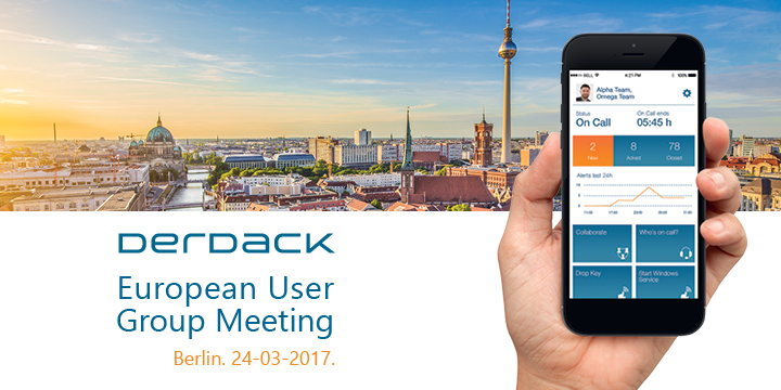 Derdack European User Group Meeting (DEUGM)