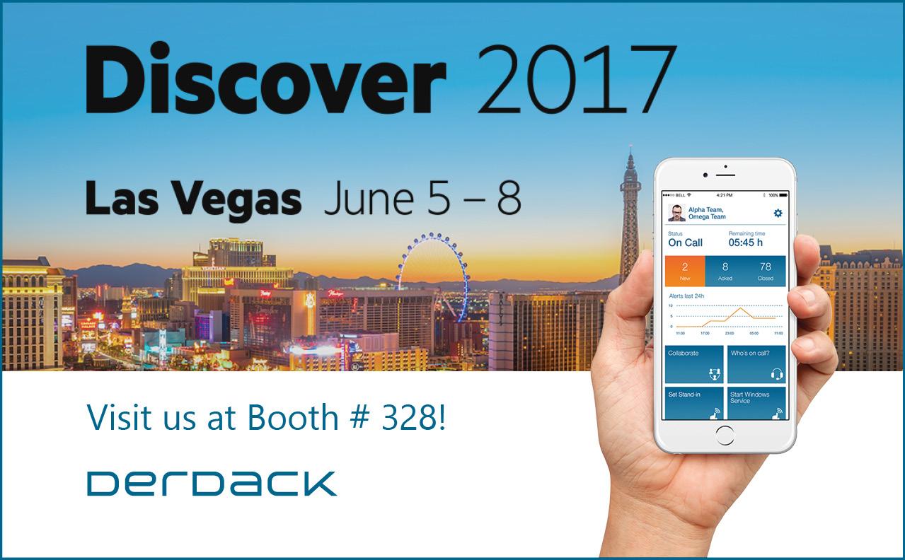 Treffen Sie Derdack auf der HPE Discover in Las Vegas