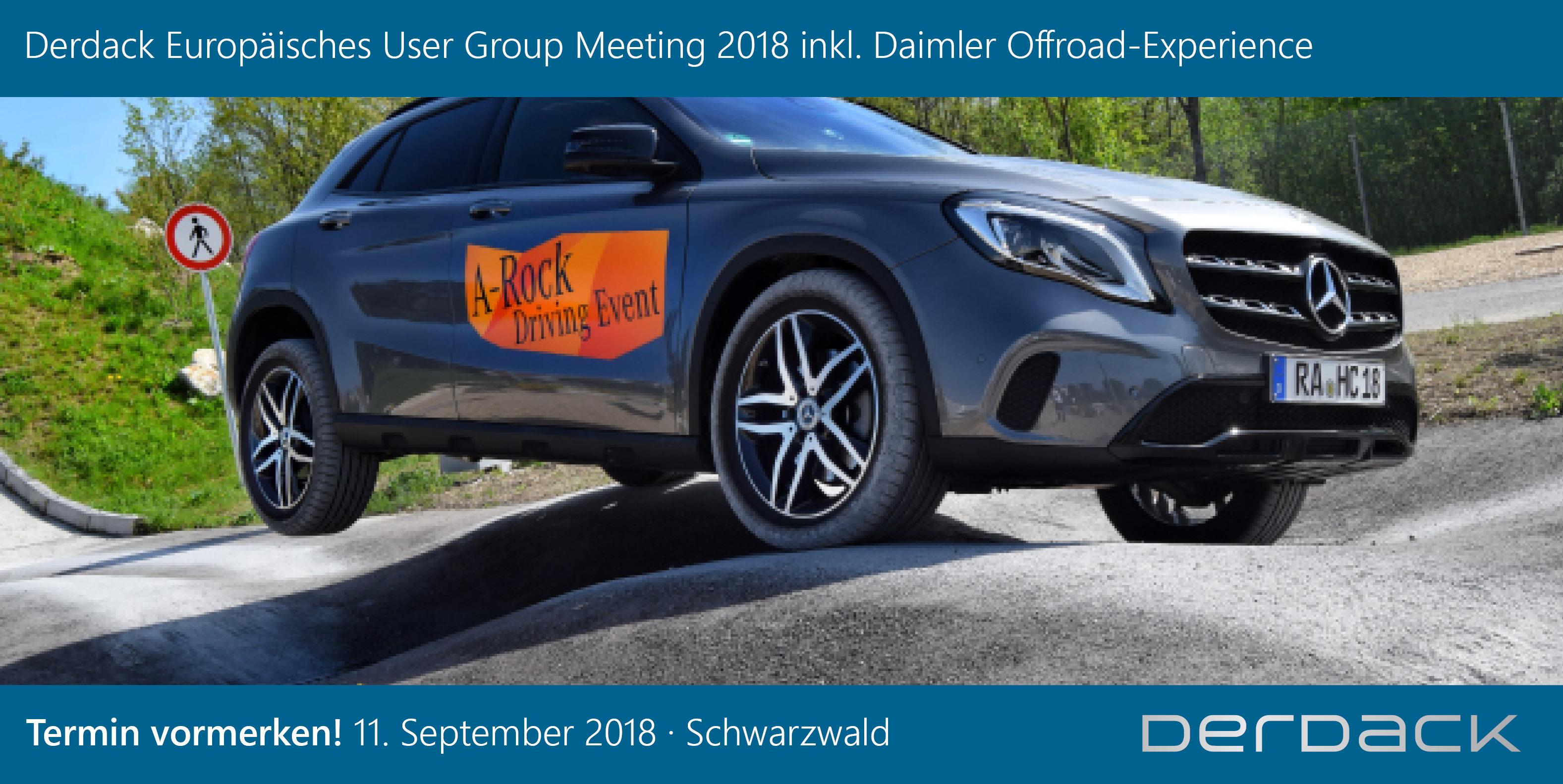 Derdack Europäisches User Group Meeting 2018 (DEUGM)