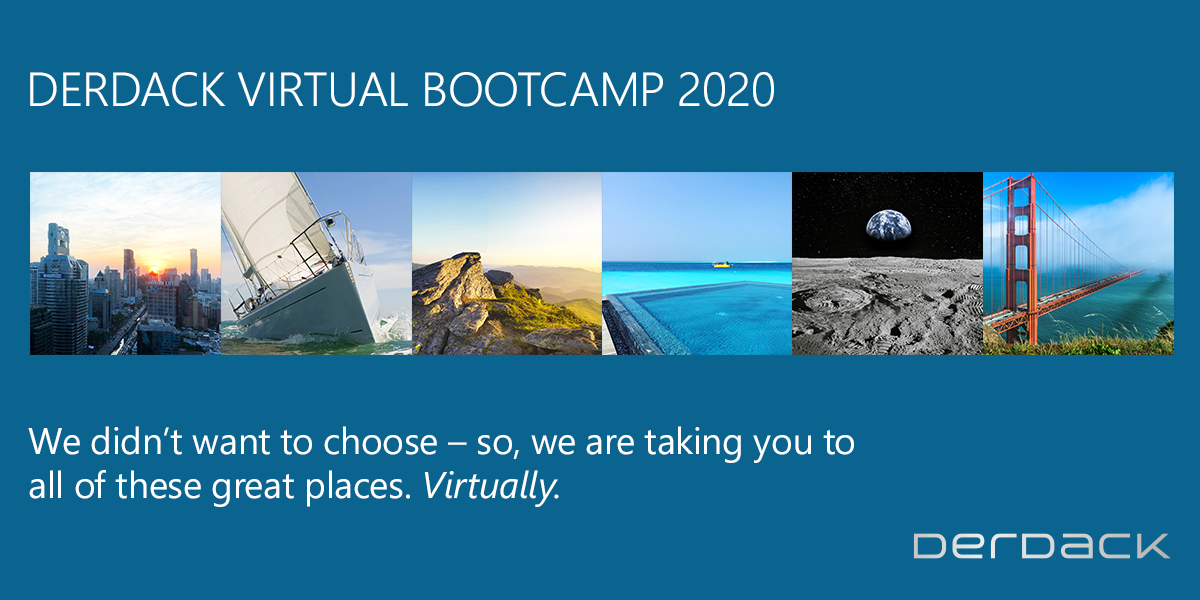 Derdack Virtuelles Bootcamp 2020
