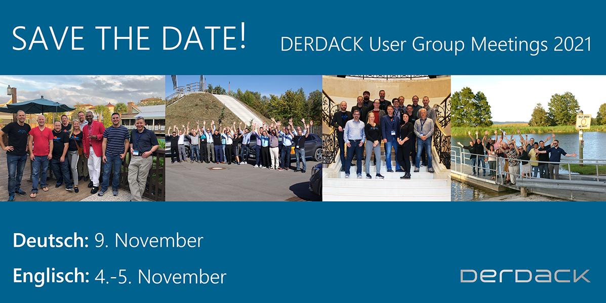 Derdack User Group Meeting 2021