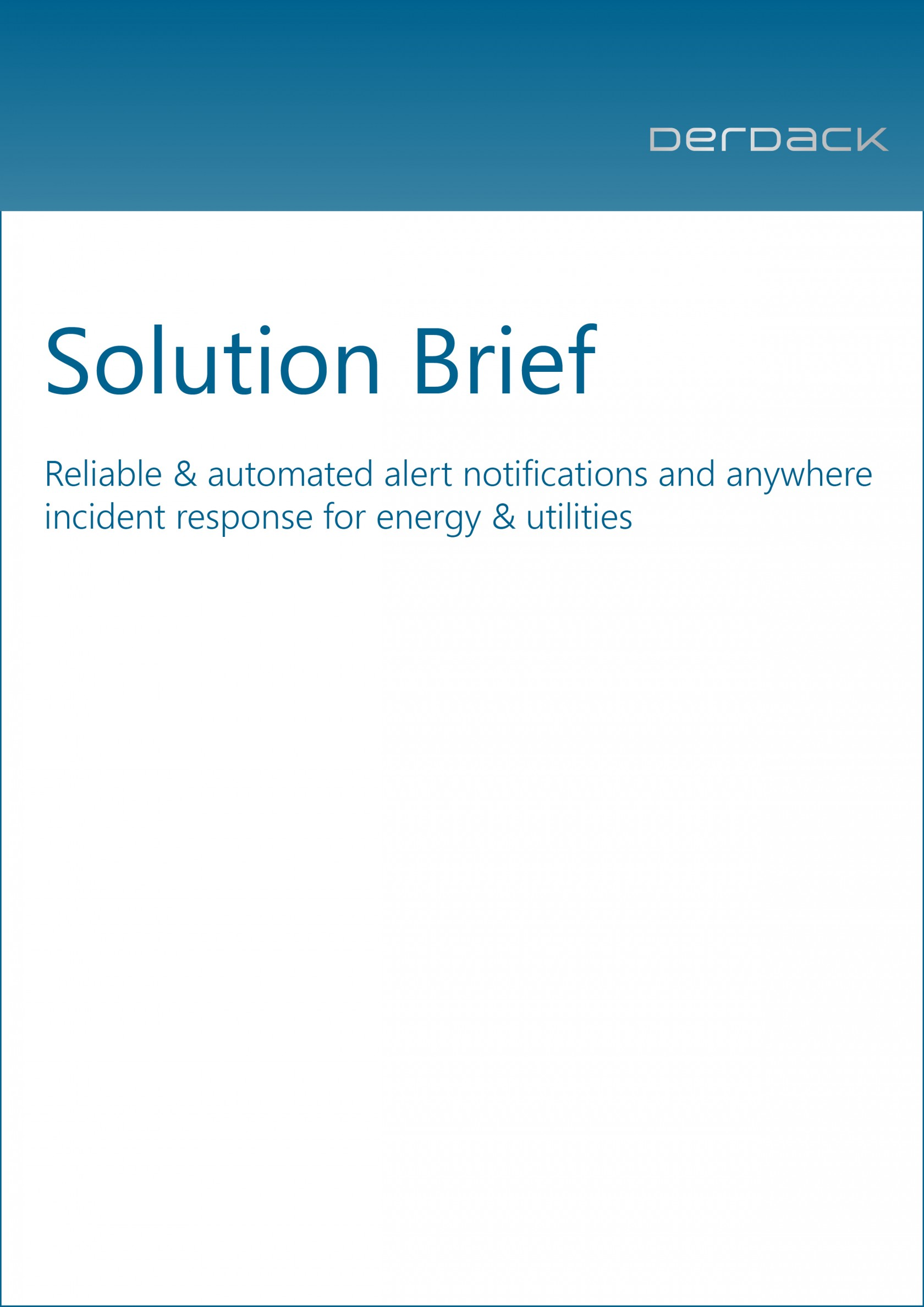 Solution Brief - Energy & Utilities