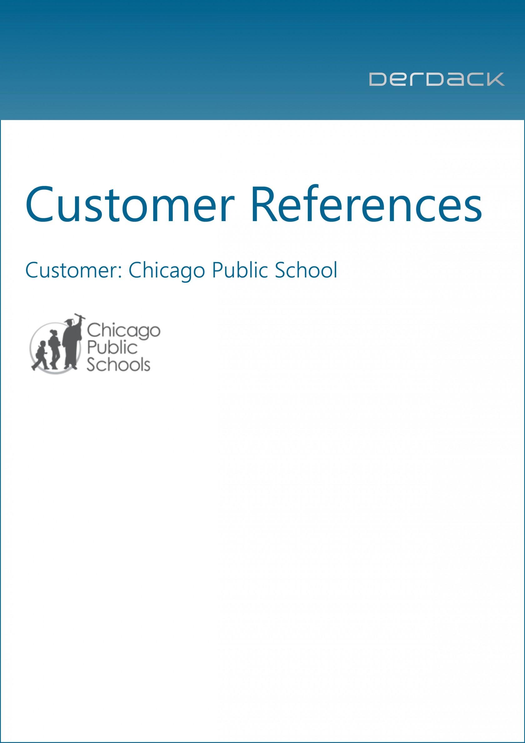 Derdack Customer Reference