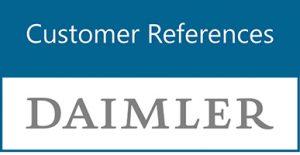Customer References: Daimler AG Germany