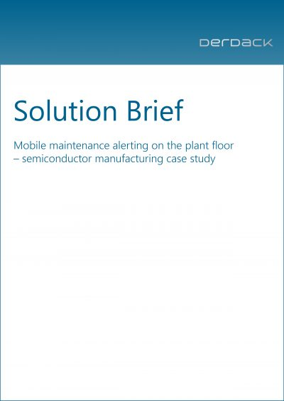 Solution Brief - Mobile maintenance alerting