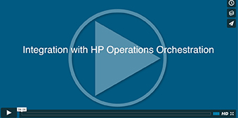 Integration with HP Operations Orchestration