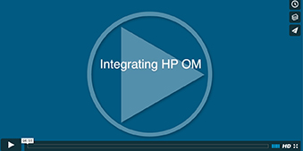 Integrating HP OM