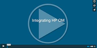 Integrating HP OM