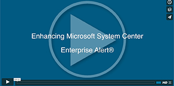 Microsoft System Center - Derdack Video
