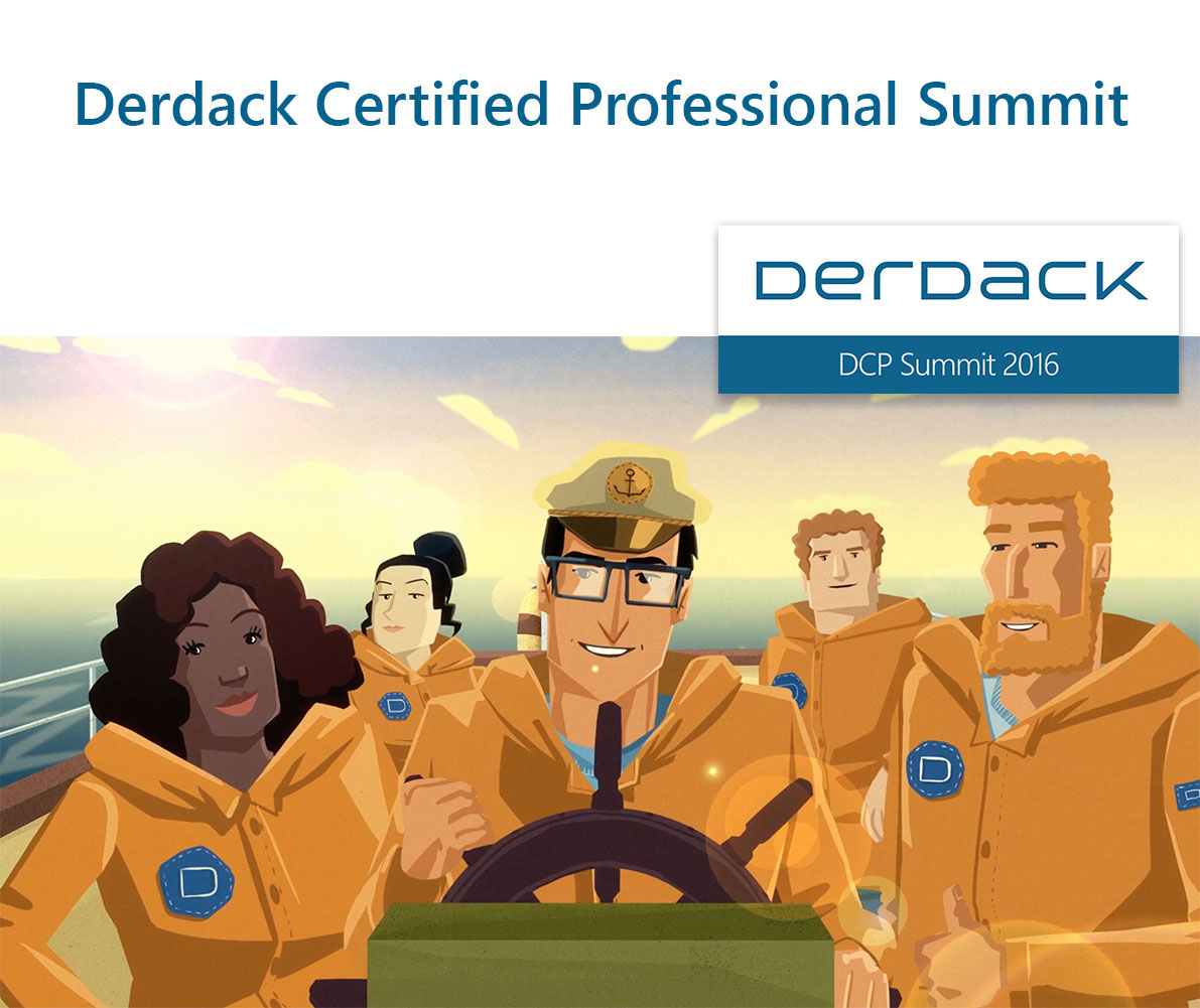 Derdack Partner Summit is taking place on August 23, 2016!