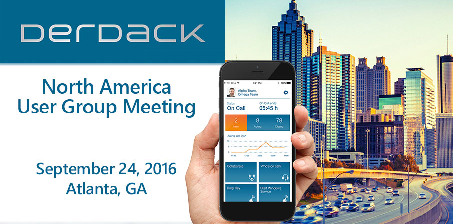 Derdack North America User Group Meeting