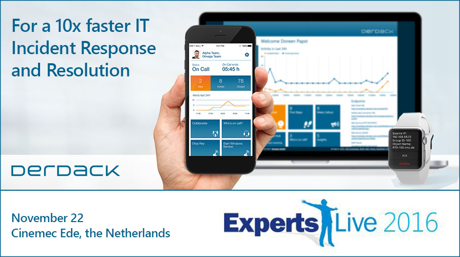 Let's meet in Holland for Experts Live!