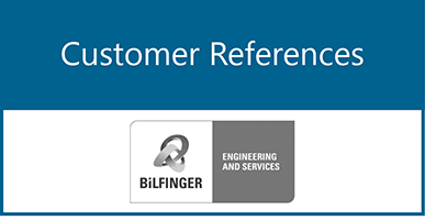 Customer References: Bilfinger Global IT GmbH