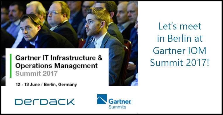 Derdack at Gartner IT IOM Summit in Berlin