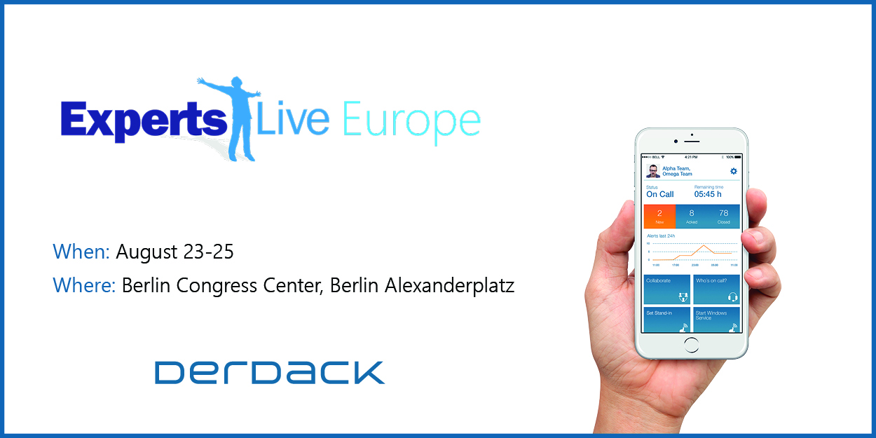 Meet our experts @ Experts Live Europe in Berlin!
