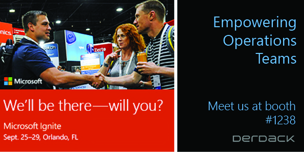 Visit Derdack at MS Ignite 2017