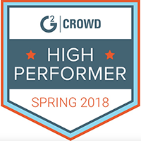 G2 Crowd High Performer
