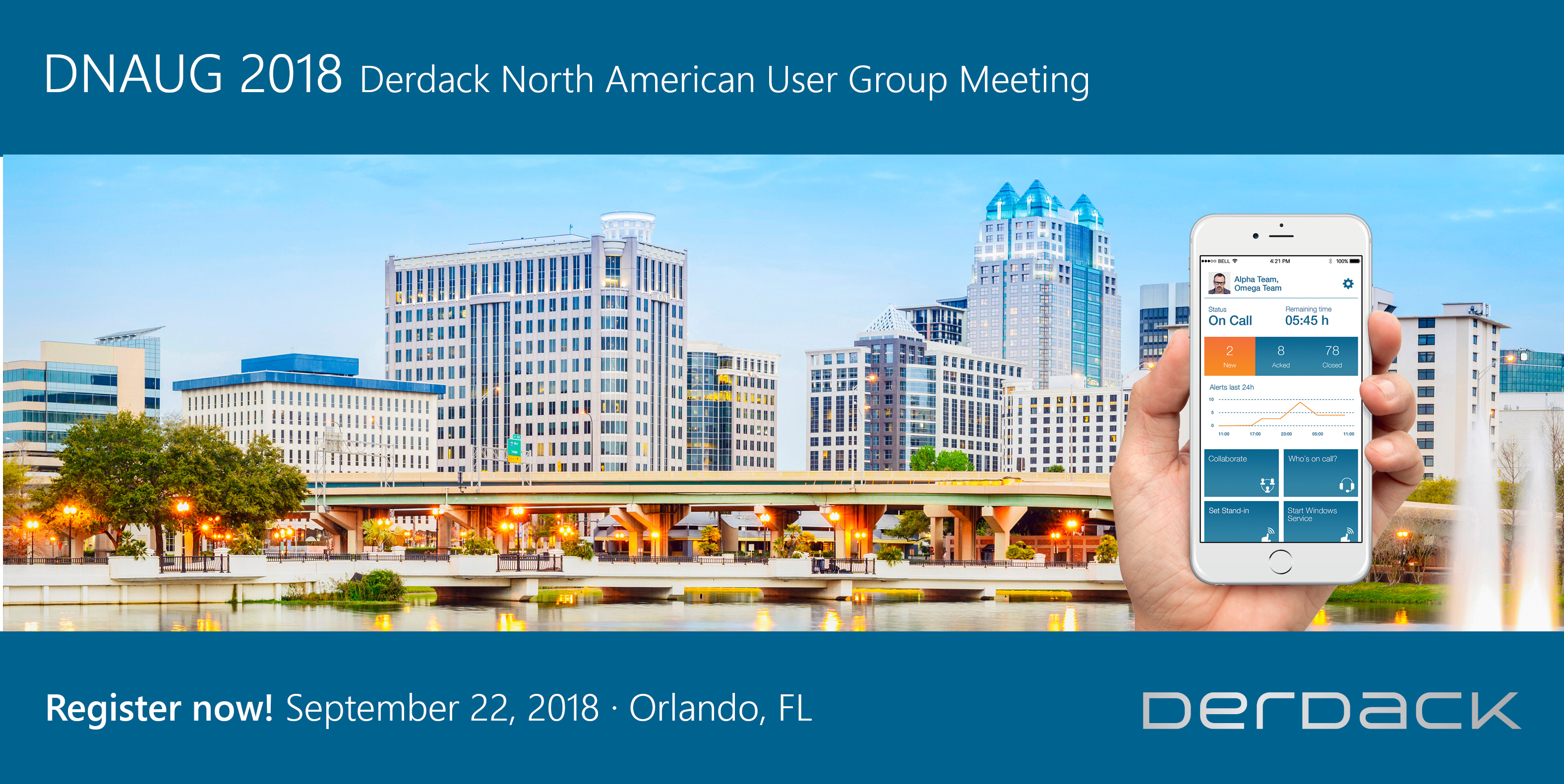 Derdack North American User Group Meeting 2018 (DNAUG)