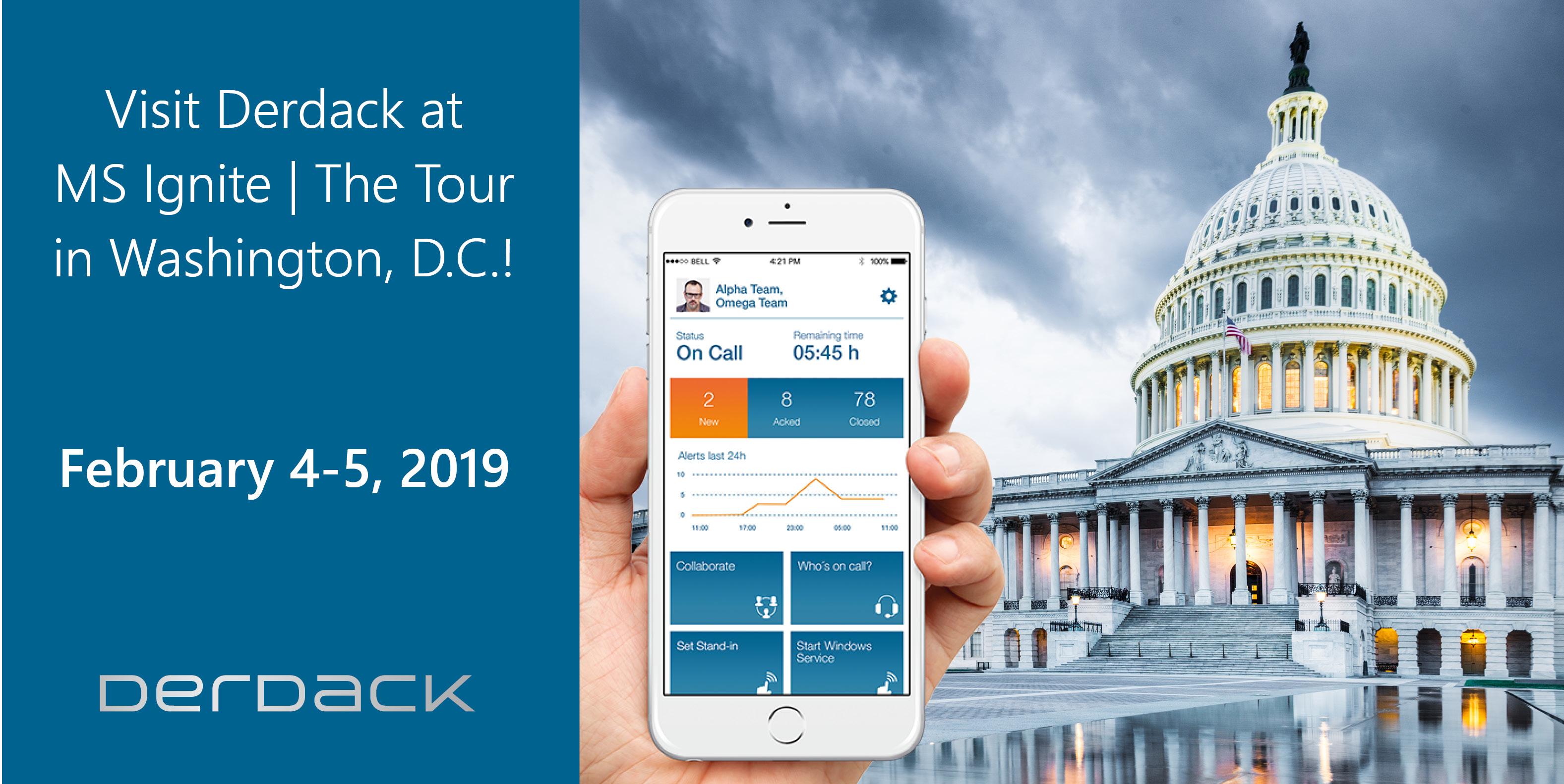 derdack microsoft ignite the tour 2019