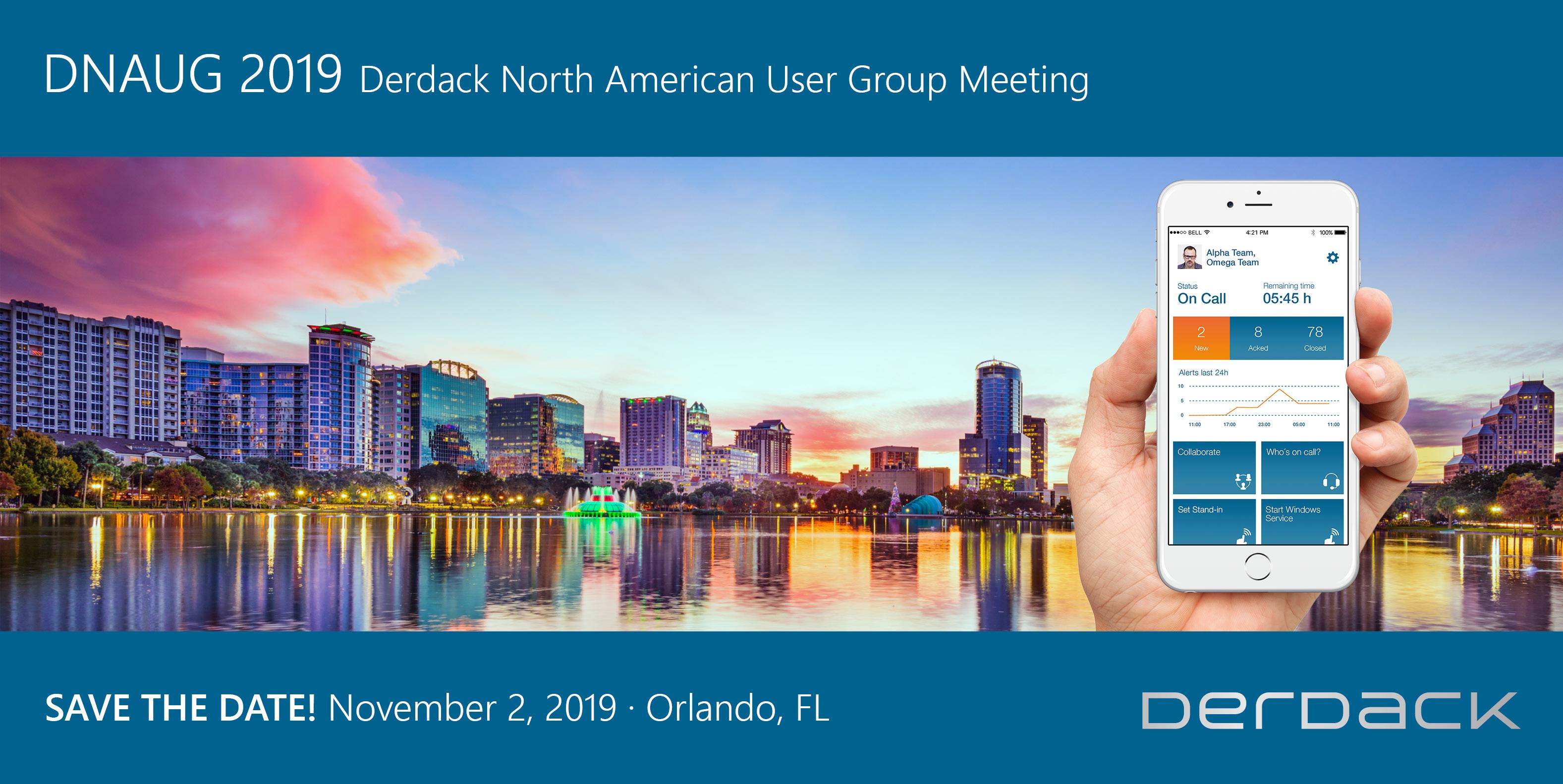 Derdack North American User Group Meeting 2019 (DNAUG)