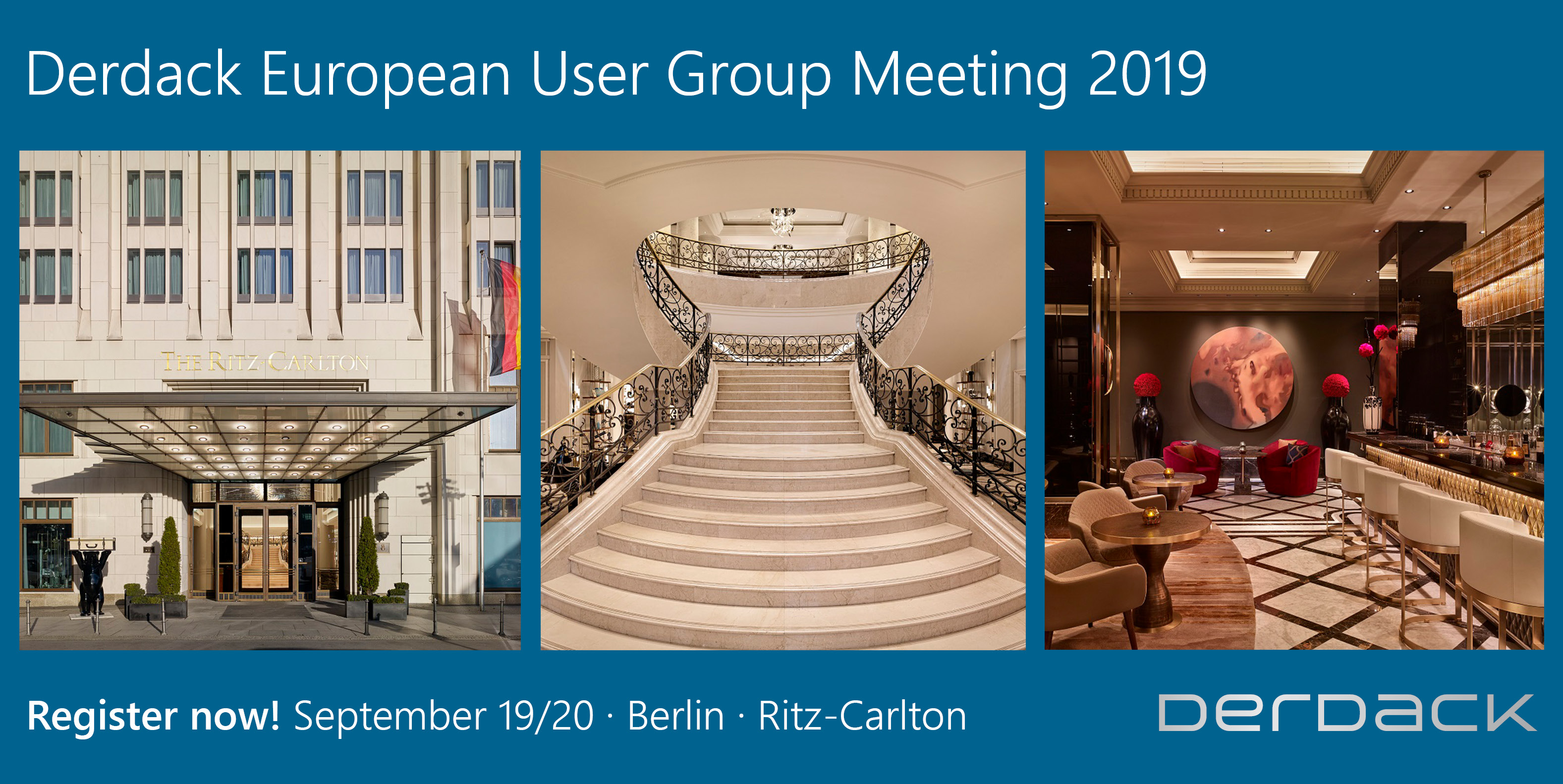 Derdack European User Group Meeting 2019 (DEUGM)